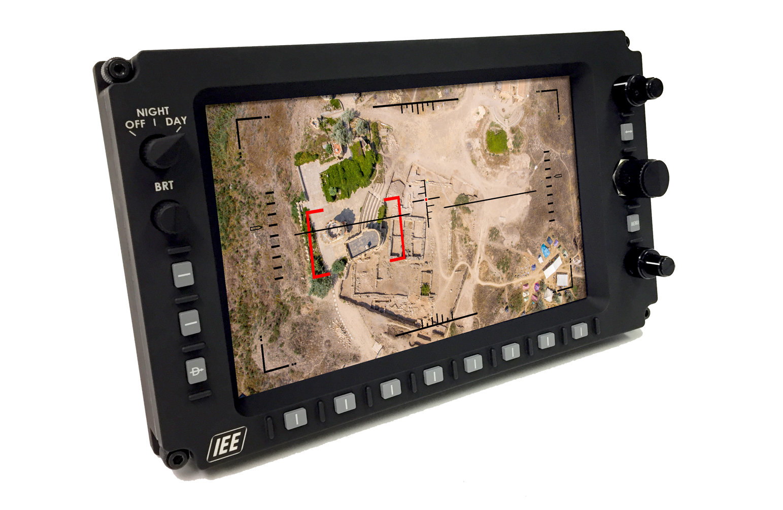 10.1 inch WUXGA rugged display subassembly