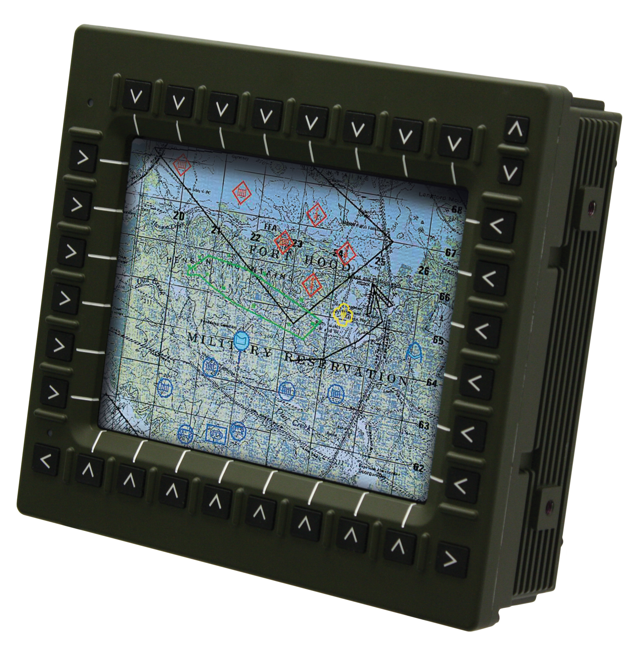 10.4 inch ground vehicle smart display