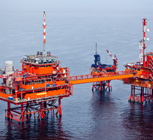 displays for harsh environments-oil rig