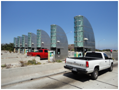 Outdoor Toll Collection Display